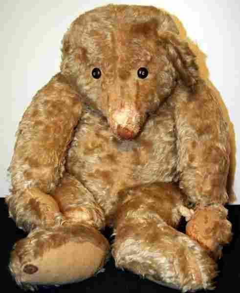 Large Early Steiff Teddy Bear