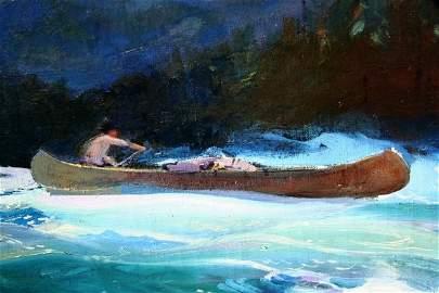 111: John Whorf Oil on Canvas