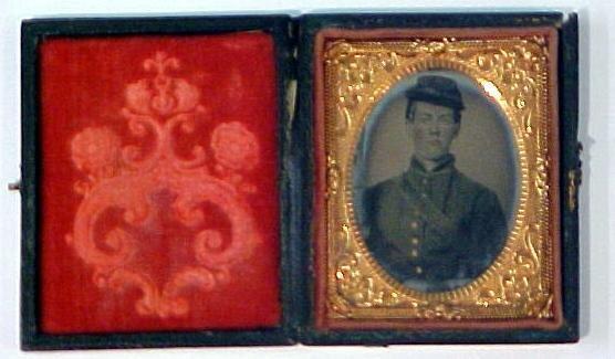 4: Tintype of Civil War soldier