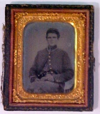 5: Tintype of Civil War soldier