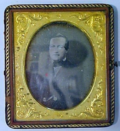 8: Daguerreotype of a gentlemen