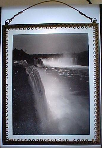 16: Niagra Falls full glass plate