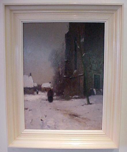 134: Knikker oil on canvas