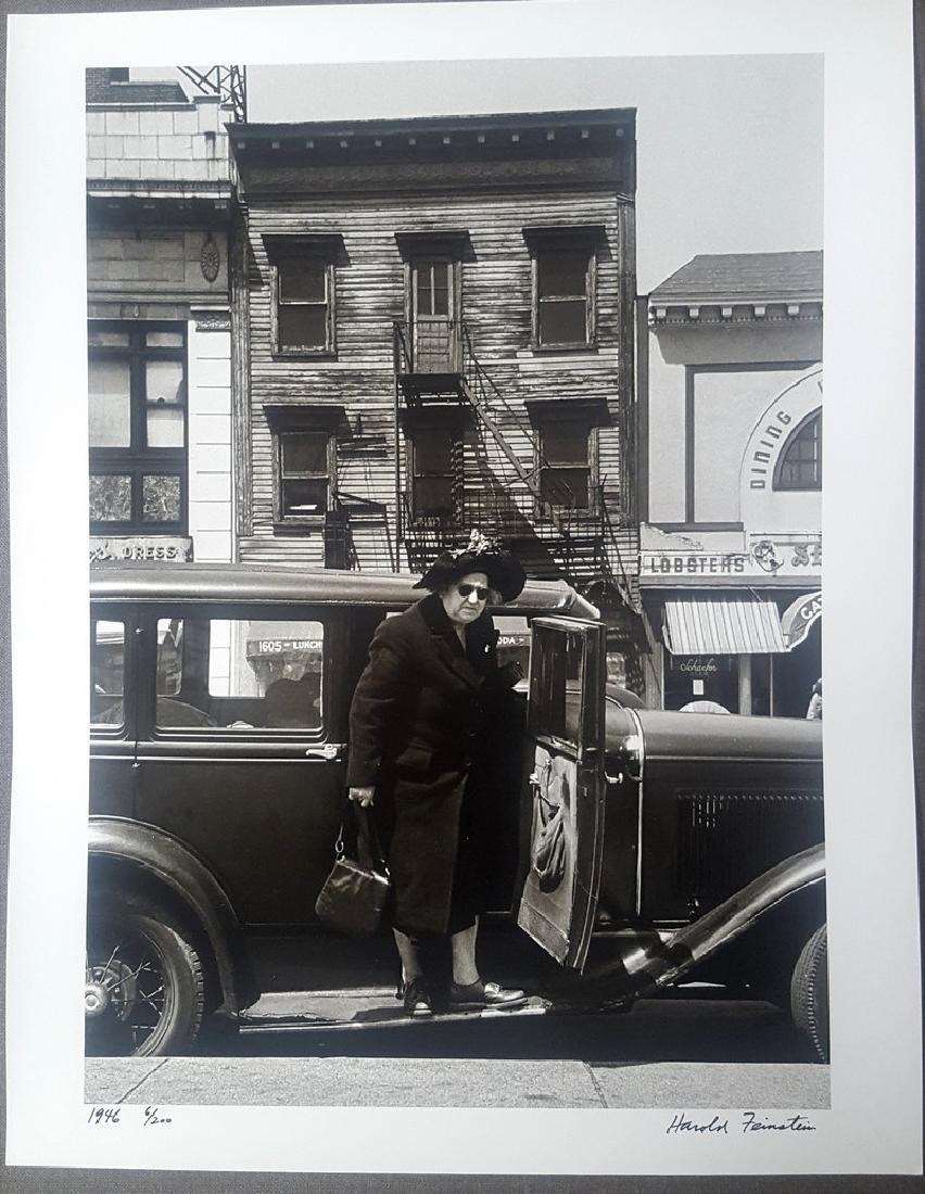 Harold Feinstein Vintage Signed Photograph 1946