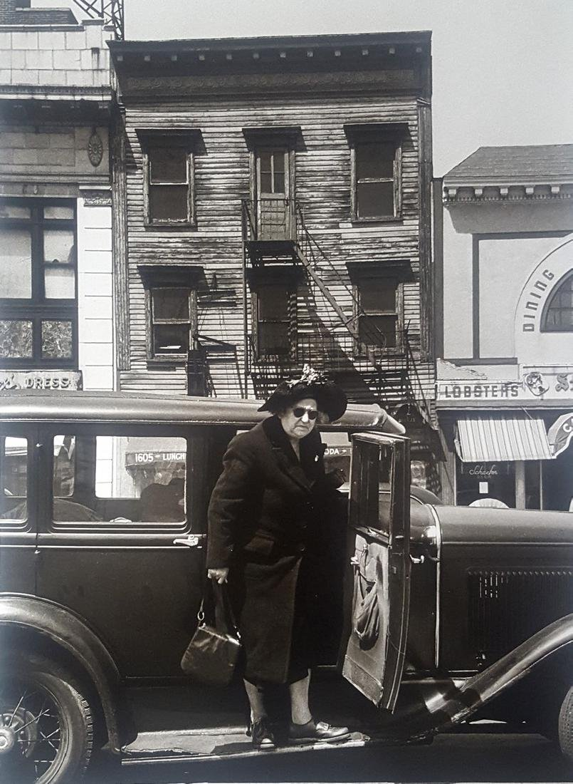 Harold Feinstein Vintage Signed Photograph 1946 - 2