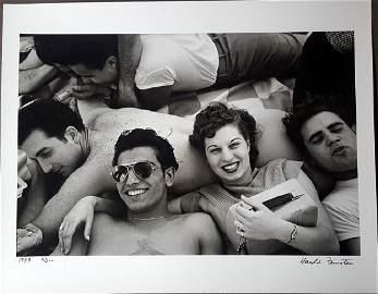 Harold Feinstein Vintage Signed Photograph 1949
