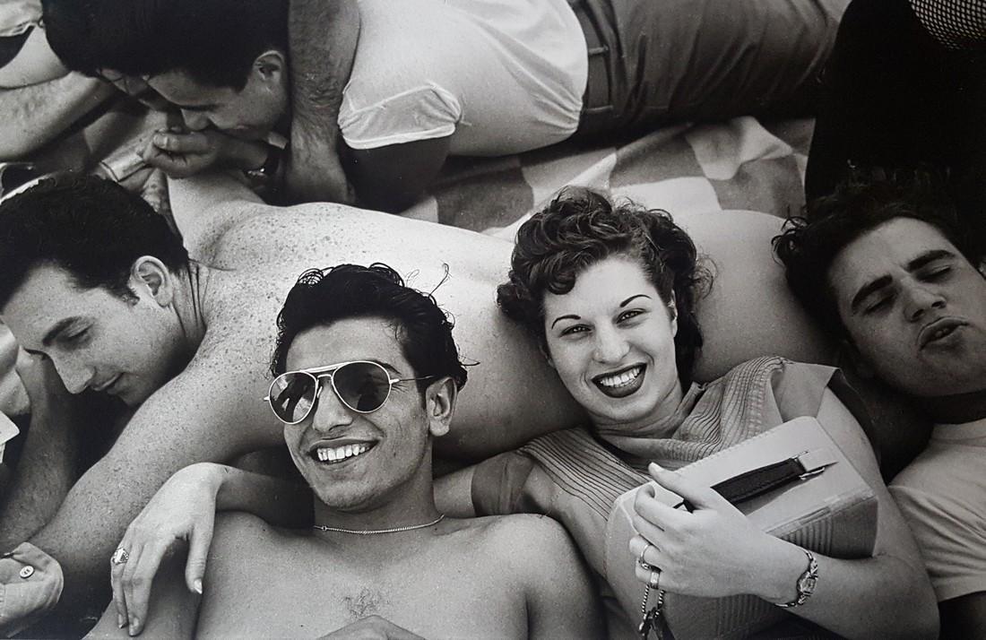 Harold Feinstein Vintage Signed Photograph 1949 - 2