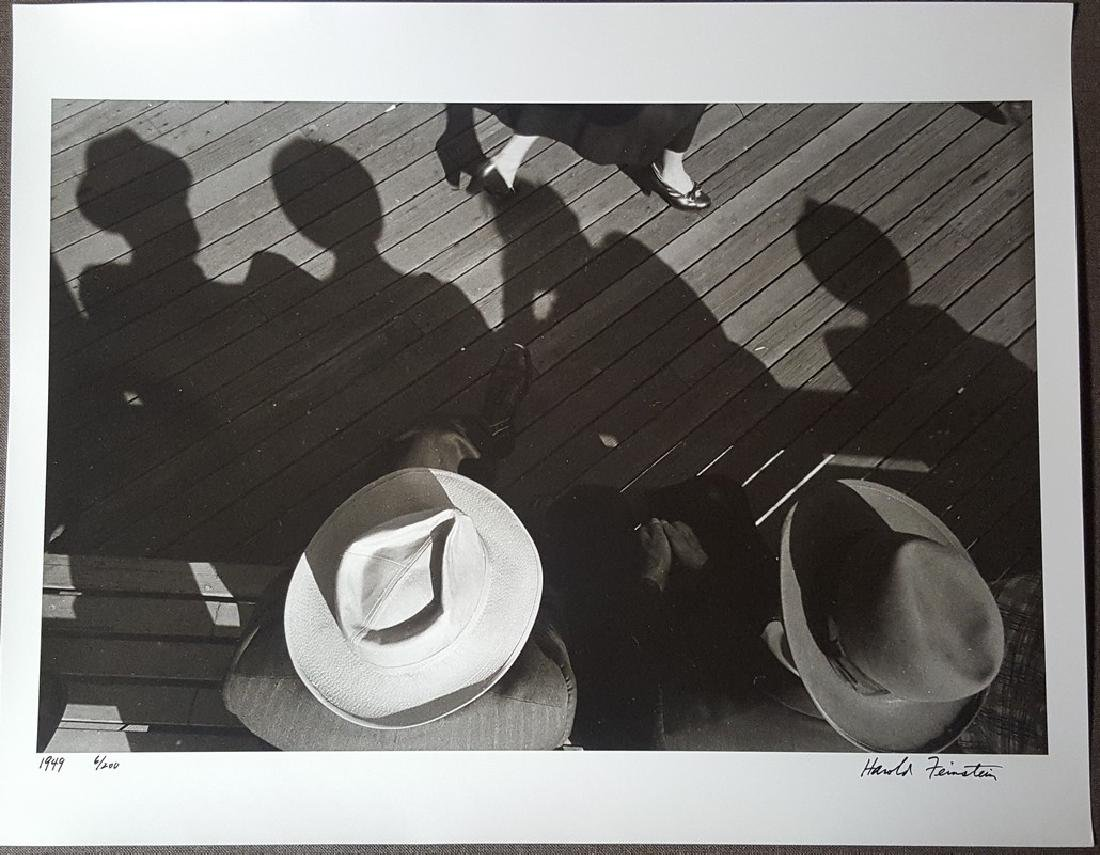 Harold Feinstein Vintage Signed Photograph 1949