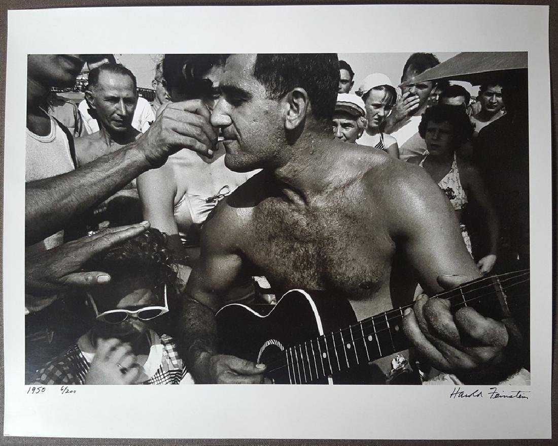 Harold Feinstein Vintage Signed Photograph 1950