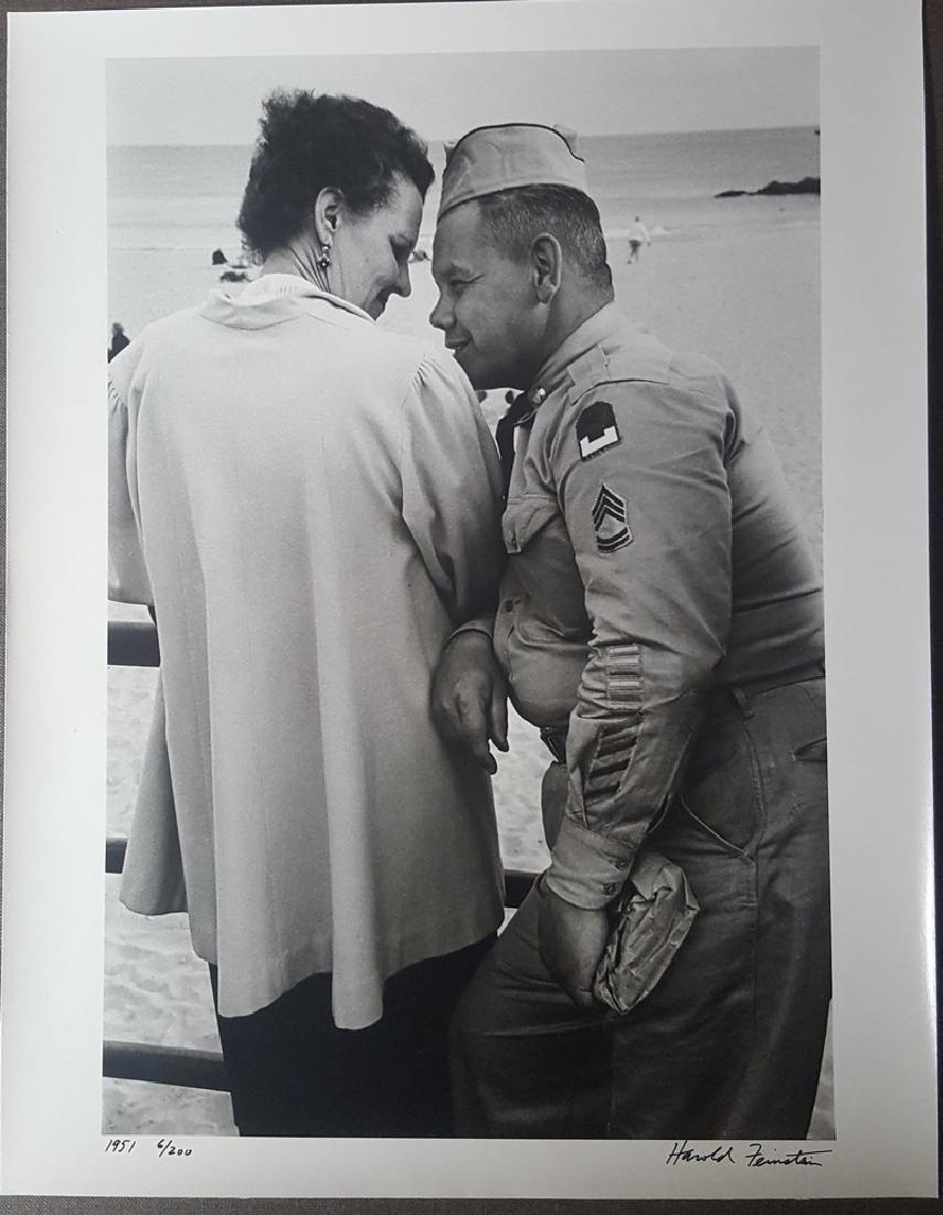 Harold Feinstein Vintage Signed Photograph 1951