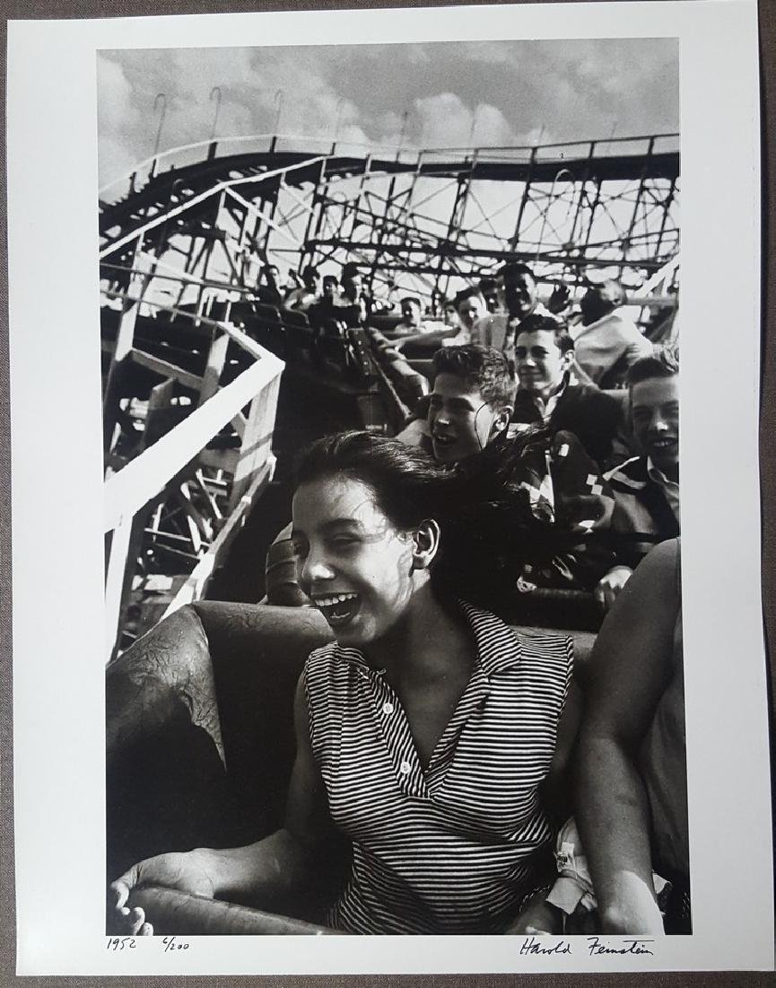 Harold Feinstein Vintage Signed Photograph 1952