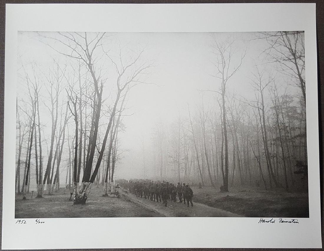 Harold Feinstein Vintage Signed Photograph 1952