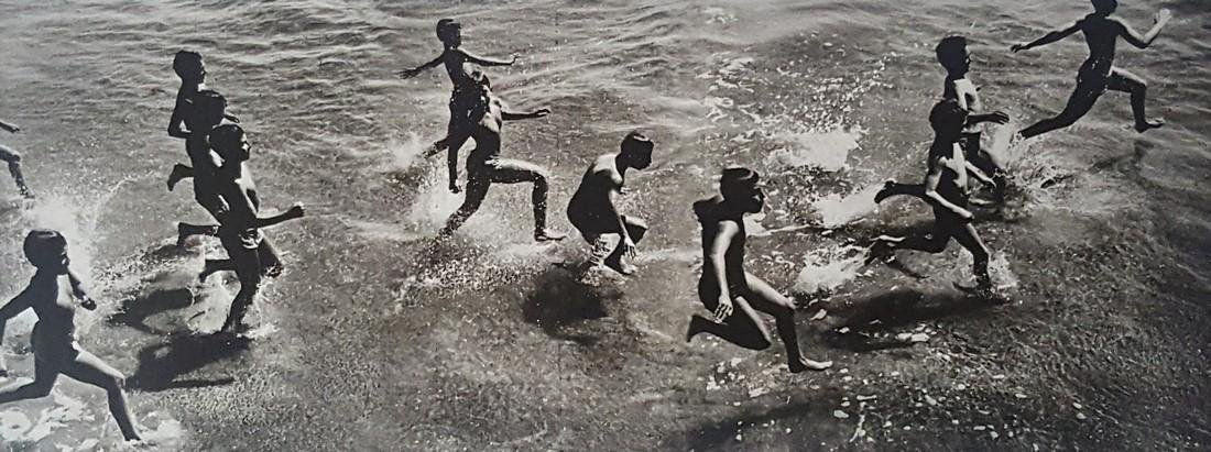 Harold Feinstein Vintage Signed Photograph 1954 - 2