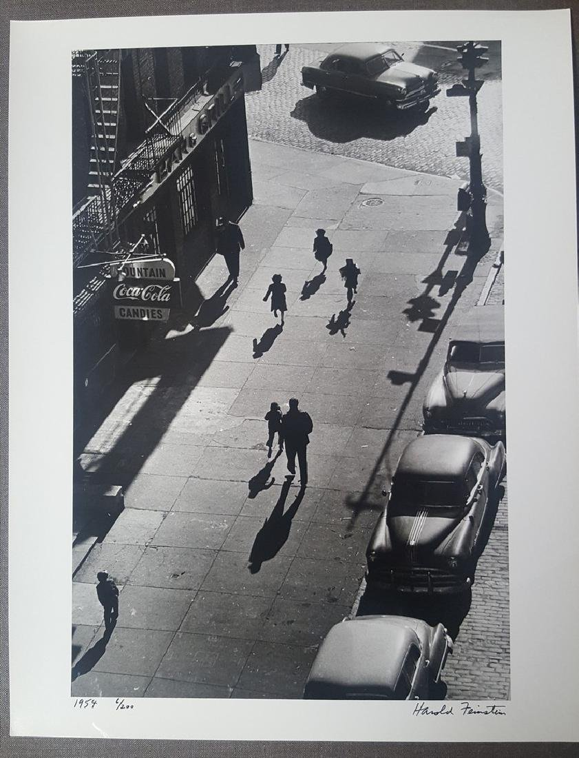 Harold Feinstein Vintage Signed Photograph 1954