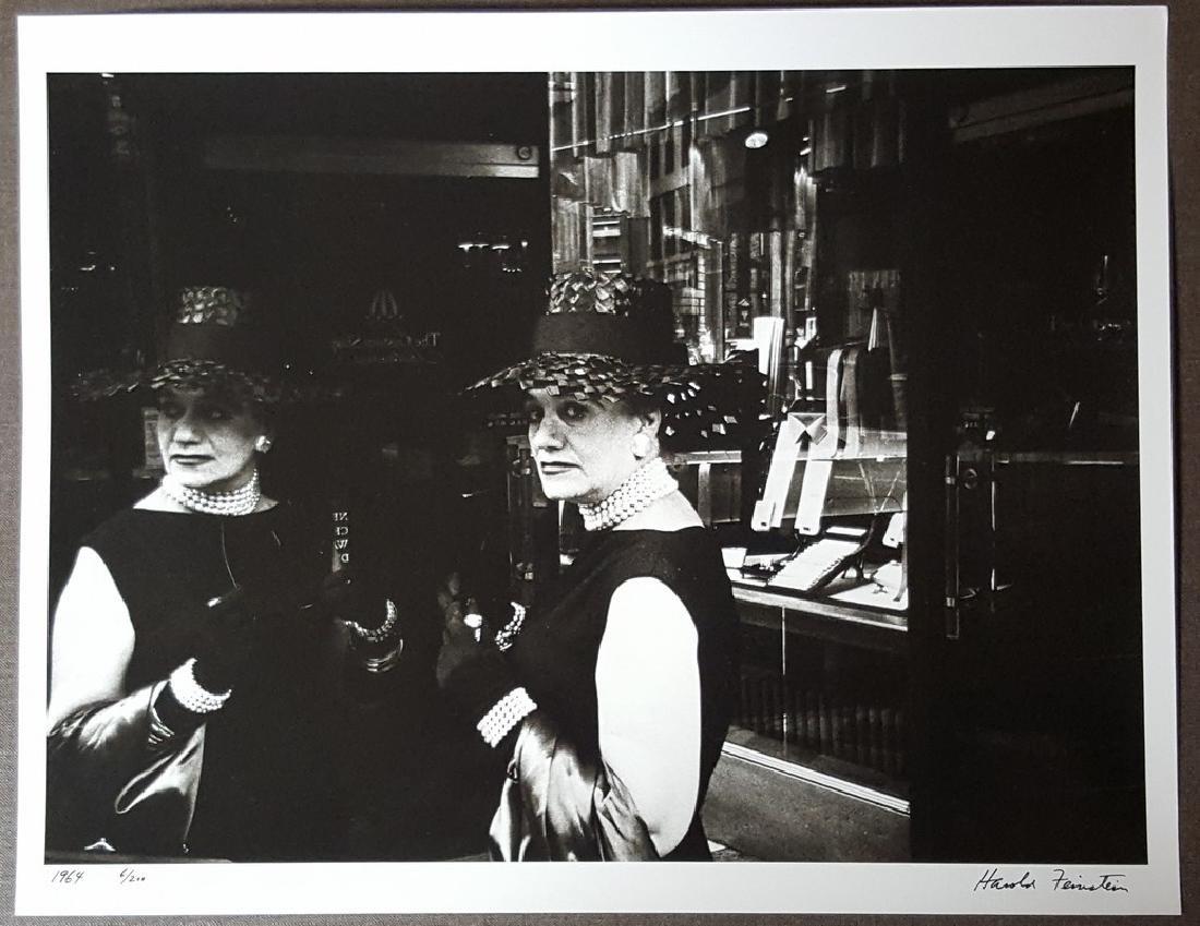 Harold Feinstein Vintage Signed Photograph 1964