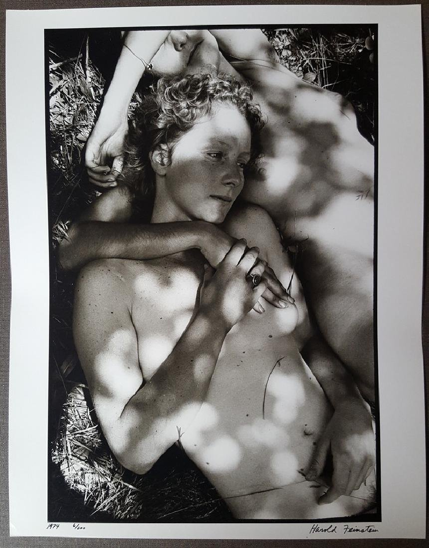 Harold Feinstein Vintage Signed Photograph 1974