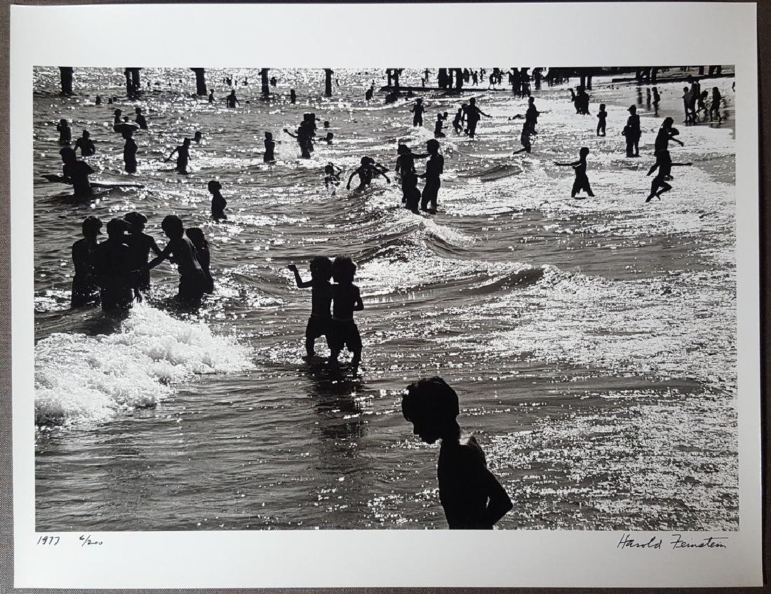 Harold Feinstein Vintage Signed Photograph 1977