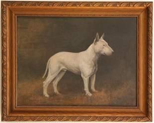 19th Century Portrait of a Dog