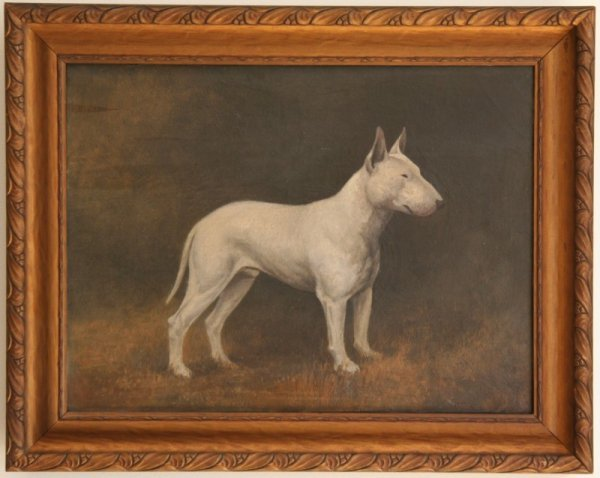 1: 19th Century Portrait of a Dog