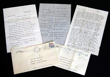 8: Group of Letters signed by J.D. Salinger