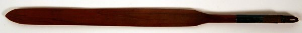 9A: Writing Instrument made from Rail Split by Lincoln