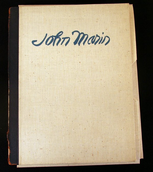 10: Rare John Marin Portfolio with Signed Etching
