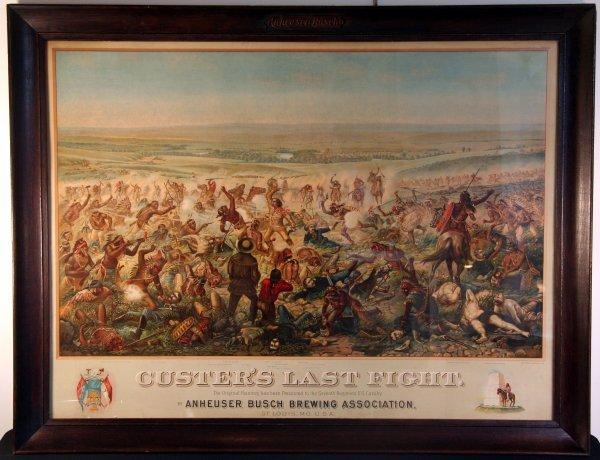 12: Original Custer's Last Fight 1896 Poster