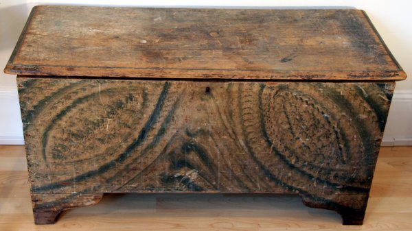 16: Early American Blanket Chest