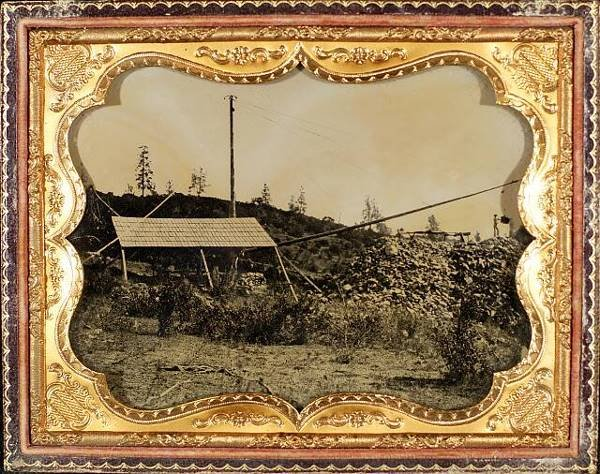 1: Group California Gold Rush Ambrotypes & Letters