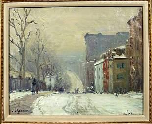 A.C. Goodwin Oil on Canvas