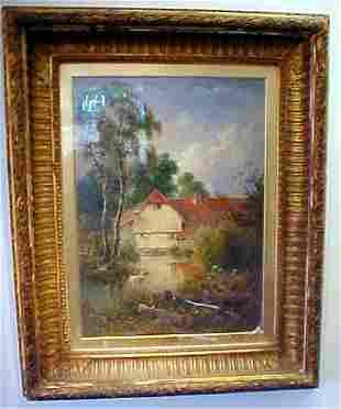 T.J. Soper, Oil on Canvas