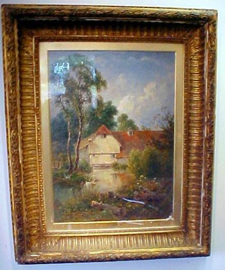 8: T.J. Soper, Oil on Canvas