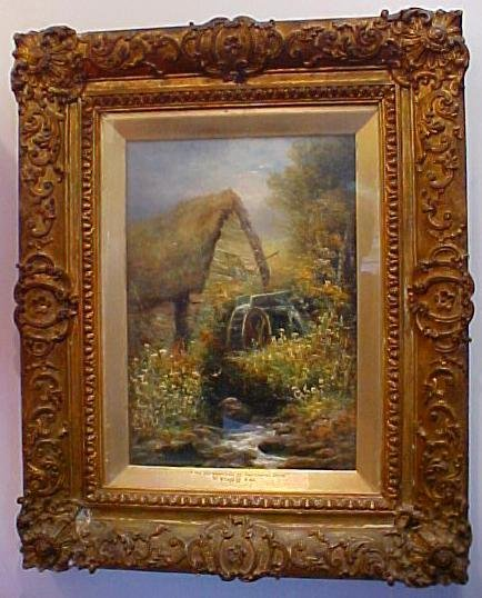 9: W. Widery, Oil on Canvas