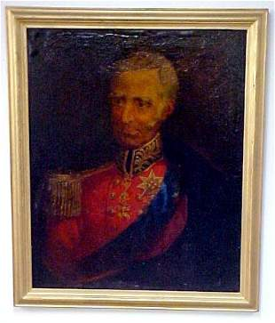 Portrait of Lord Nelson, oil on canvas