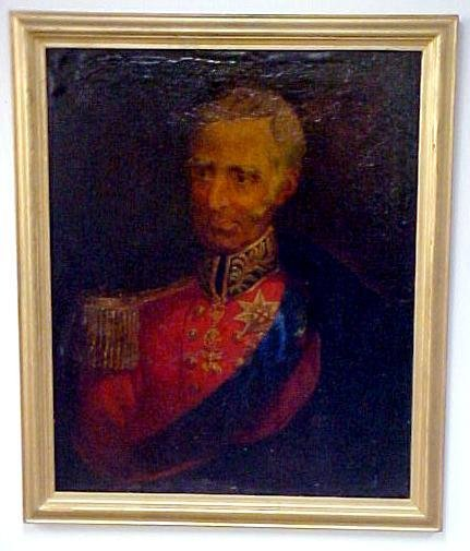 11: Portrait of Lord Nelson, oil on canvas