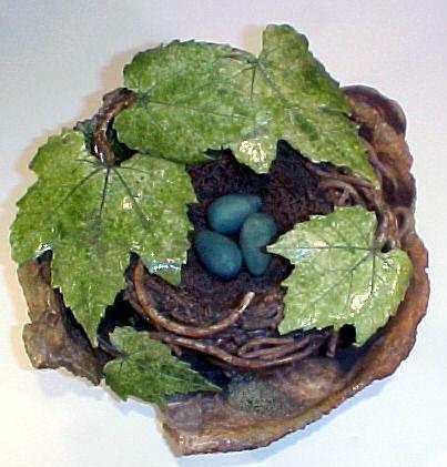 18: Unusual Ceramic Bird Nest