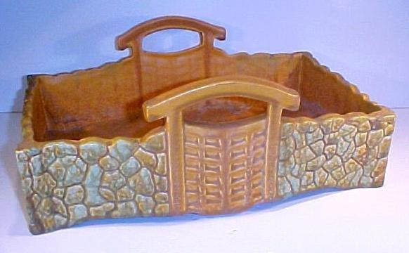 20: Large Carmark Pottery Basket Vase