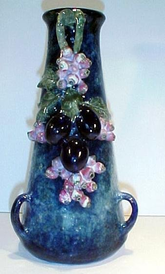 21: Austrian Art Pottery Vase