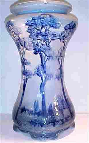Weller Pottery Jap Birdmal Pedestal