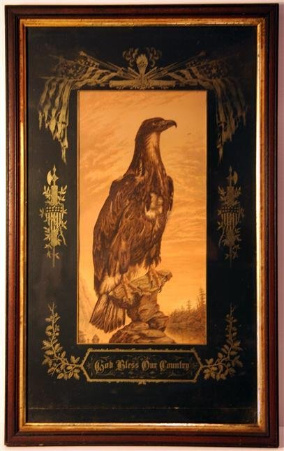 7: God Bless Our Country Chromolithograph