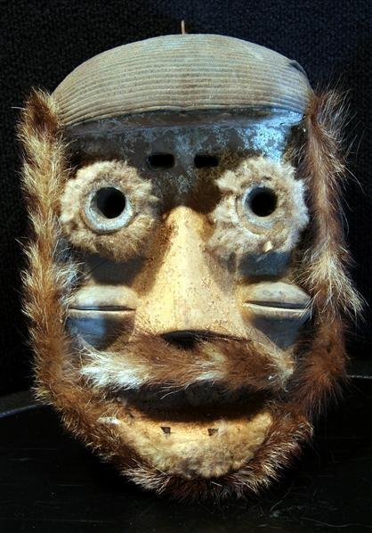 9: Early Carved Primitive Mask