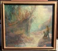 37: Harry Mann Waddell (1876-1956) Oil