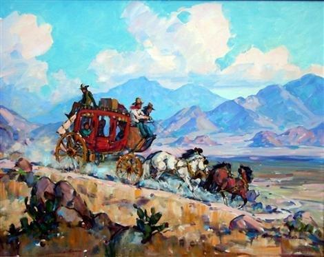 39: Marjorie Jane Reed (American, 1915-1996) Oil