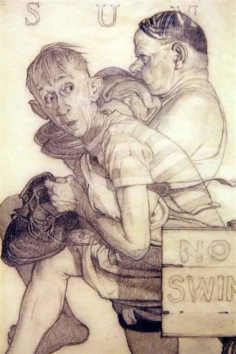 Norman Rockwell Original Pencil Drawings Img2 3