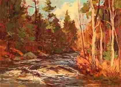 2: Bernard Corey Painting