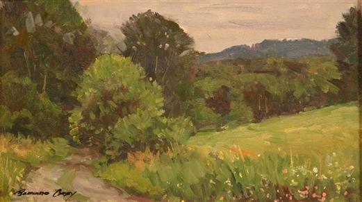 3: Bernard Corey Painting