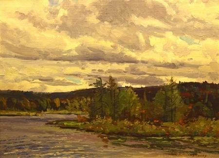 6: Bernard Corey Painting
