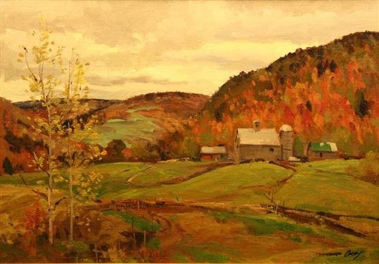 7: Bernard Corey Painting