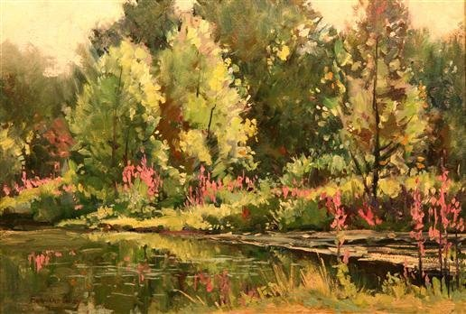 8: Bernard Corey Painting