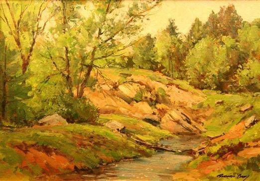 9: Bernard Corey Painting